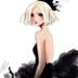 黑裙美女魔秀桌面