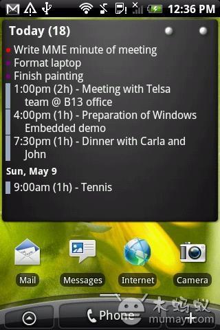 桌面日程管理 Pure Calendar widget V3.4.9