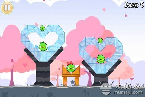 愤怒的小鸟情人节版 Angry Birds V