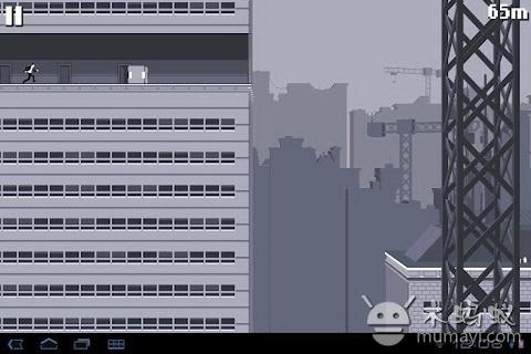 屋頂狂奔漢化版 Canabalt HD V2.11