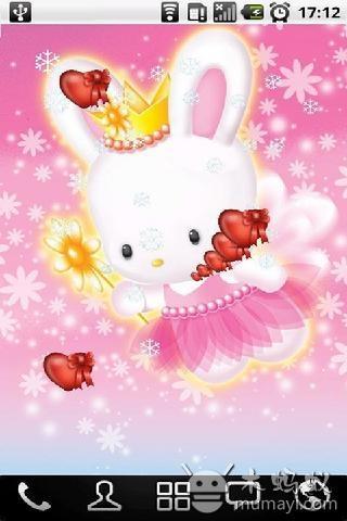 可爱兔宝宝动态壁纸 v1.