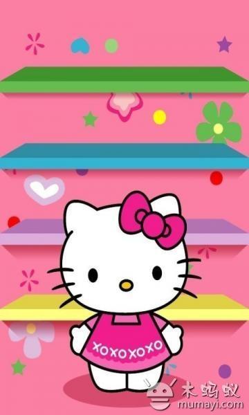 超萌kitty猫壁纸 v1.0
