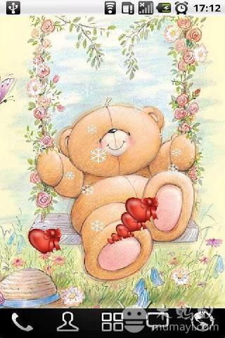 可爱的小熊动态壁纸 下载