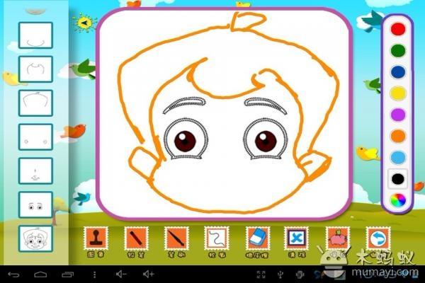 安卓/小泥人之启蒙画画是childjoy推出的一款幼儿类启蒙画画应用,包括...