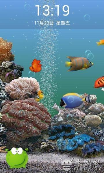 超高清的3d動感海底世界動態壁紙,高清的動感海底世界畫面讓您手機