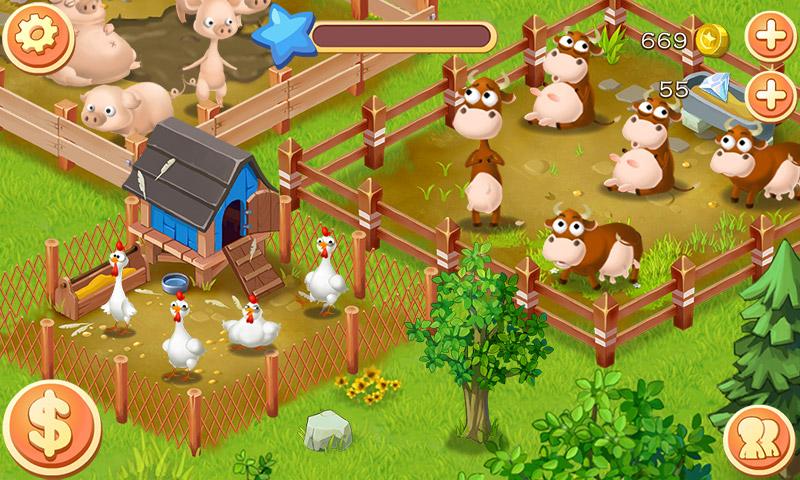 欧洲农场动物们