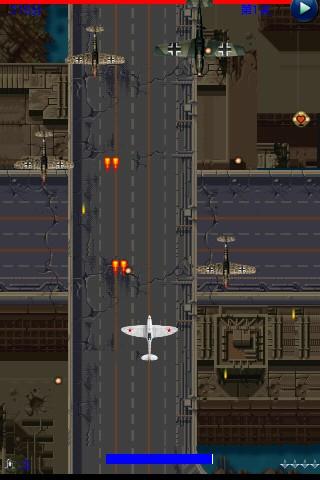 盟军反击1944是款经典的飞机射击游戏,背景取材于二战欧洲空战,所有