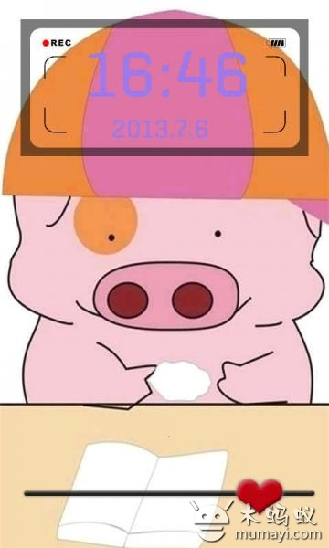 软件介绍:这是一款可爱麦兜动态锁屏。麦兜是什么,是一只粉色的猪。准确地说,是一个猪样小朋友,只不过在作者的笔下,给它赋予了人性,而它的世界也和人的世界没有什么区别,惟一有别的可能只是它的形象还是个猪的样子,因此还不如就说他是一个生有猪样子的人。喜欢这只可爱的猪么,那就赶快下载吧。 设置锁屏壁纸方法:安装后,在桌面选择图标---锁屏---开启可爱麦兜动态锁屏---设置功能---退出完毕 可爱麦兜动态锁屏 可爱麦兜动态锁屏1.