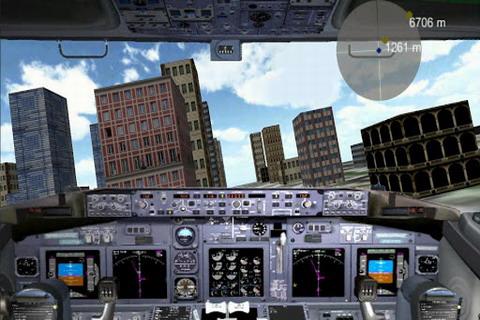波音飞机模拟飞行 flight simulator boeing free v2.