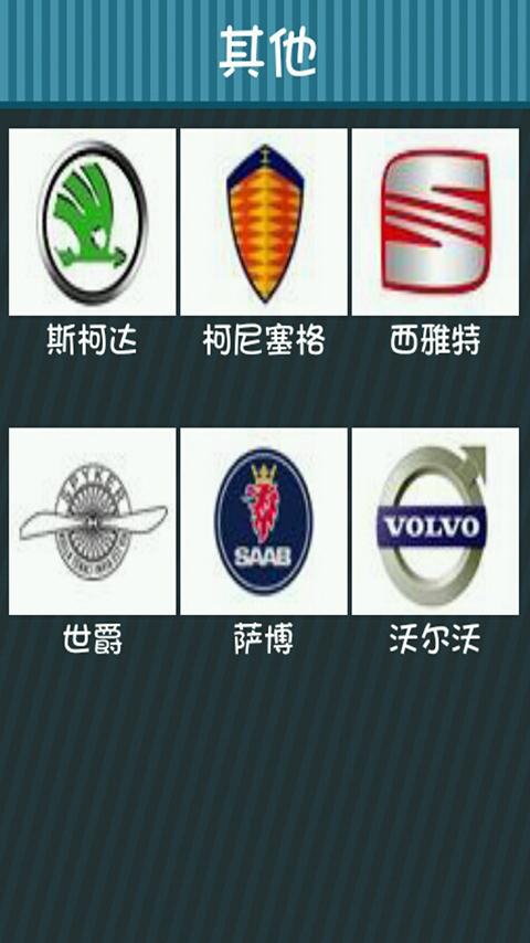 汽车标志大全 v1.
