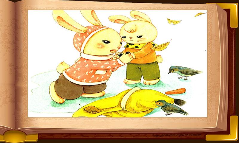 智慧谷 友情系列 雪孩子手绘本 ● 童话故事 宝宝故事
