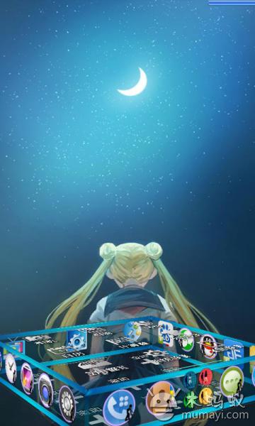 动漫月亮手机壁纸