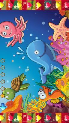 儿童海洋动物拼图游戏-识动物学英语v1.2
