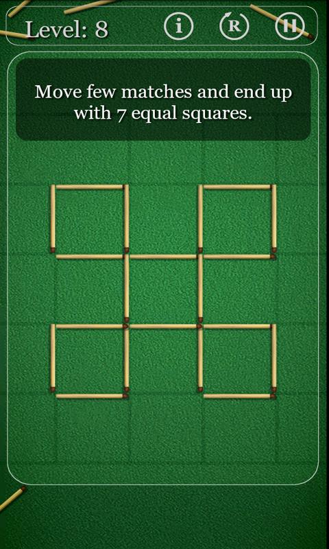 火柴拼图 puzzles with matches v1.图片