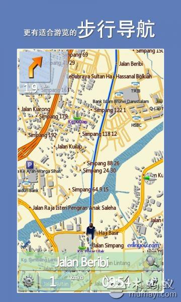 文莱地图v1.1_出行地图