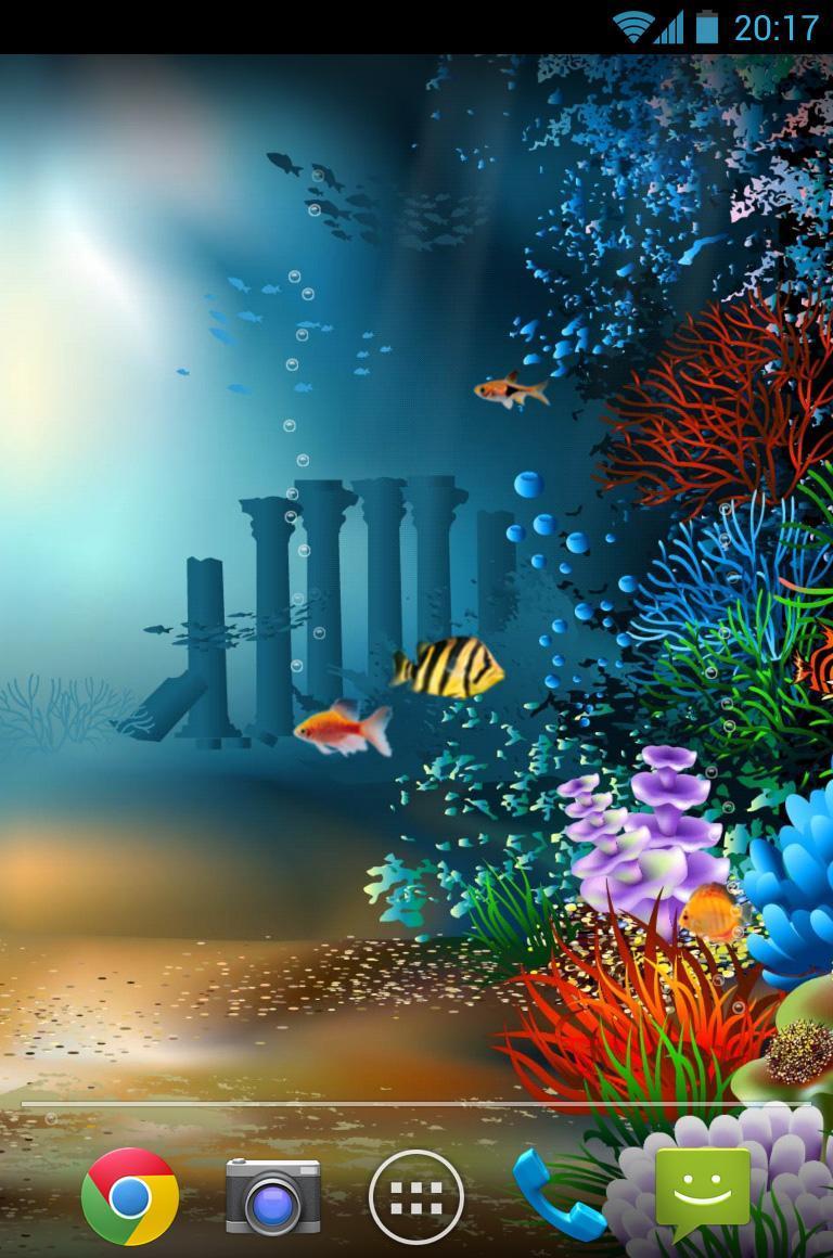 水族館海底世界動態壁紙 v1.4