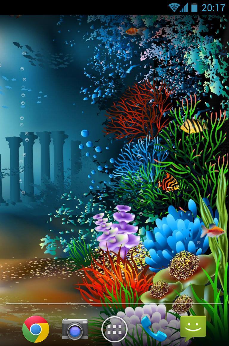 水族館海底世界動態壁紙下載