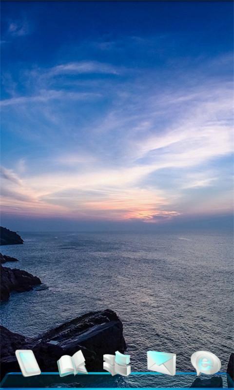 日出的海边风景-3d桌面壁纸下载
