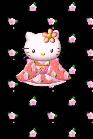 可爱kitty猫壁纸下载_可爱kitty猫壁纸手机版下载_猫