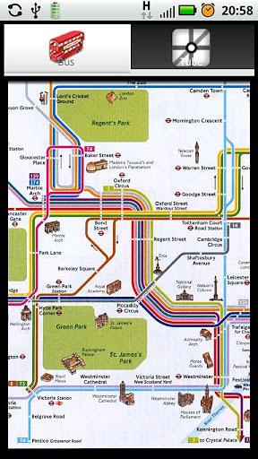 伦敦旅游观光地图下载