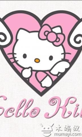 kitty手机桌面壁纸