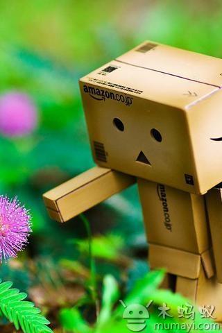 可爱的danbo纸盒人 v1.