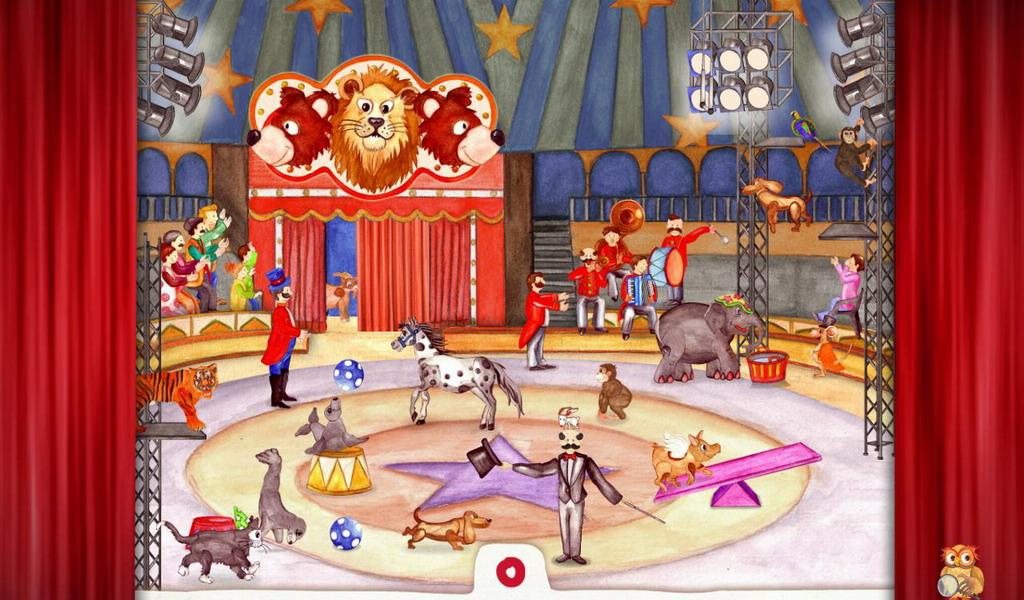 动物马戏团 animal circus