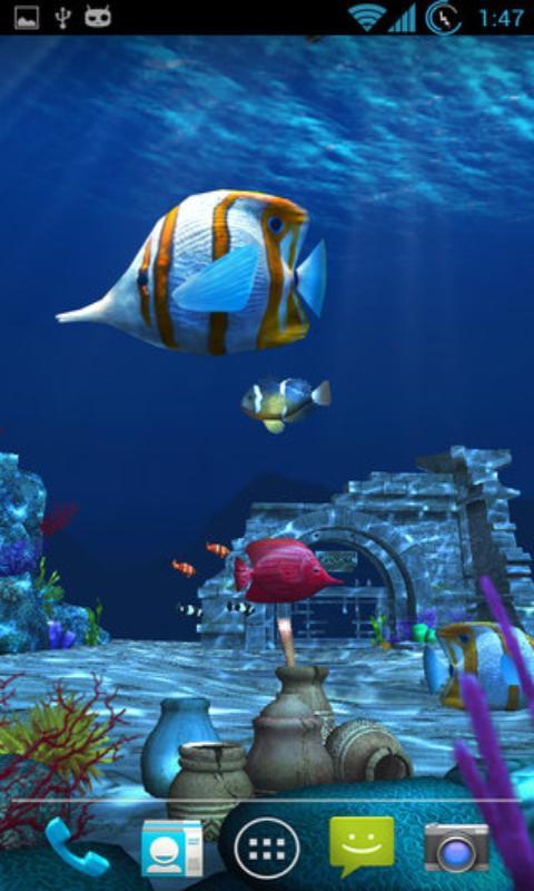 海底3d动态壁纸下载_海底3d动态壁纸手机版下载_海底