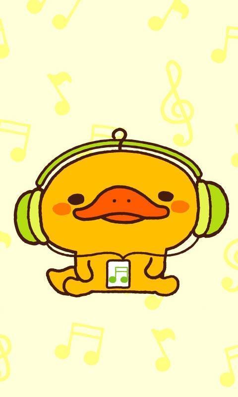 可爱的小黄鸭-天天锁屏下载