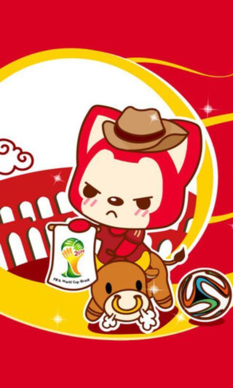 阿狸狐世界杯可爱壁纸 v3.0