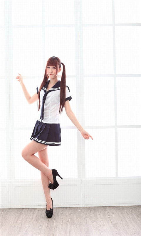 清纯可爱学生妹高跟长腿壁纸 v1.0