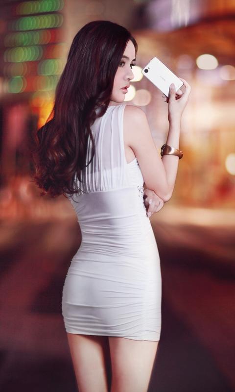 性感美腿美女美女动态壁纸