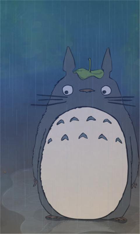 宫崎骏可爱龙猫壁纸 v4.0
