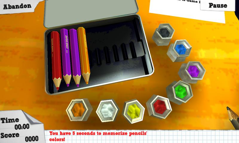 儿童游戏房是一款充满童趣的休闲游戏。由5个小游戏组成,分别为记忆彩色笔、黑板画、坦克游戏、飞行游戏和重力迷宫。这些游戏都设计在一个儿童房里进行,画面很精美,而且都很适合儿童进行游戏。