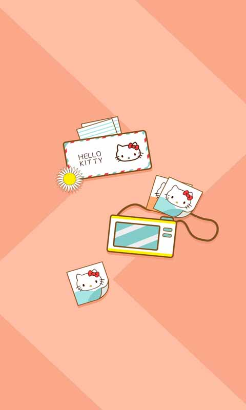 hello kitty動態壁紙鎖屏 v1.
