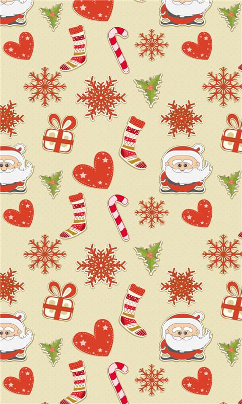 圣诞节小碎花可爱动态壁纸 v1.0