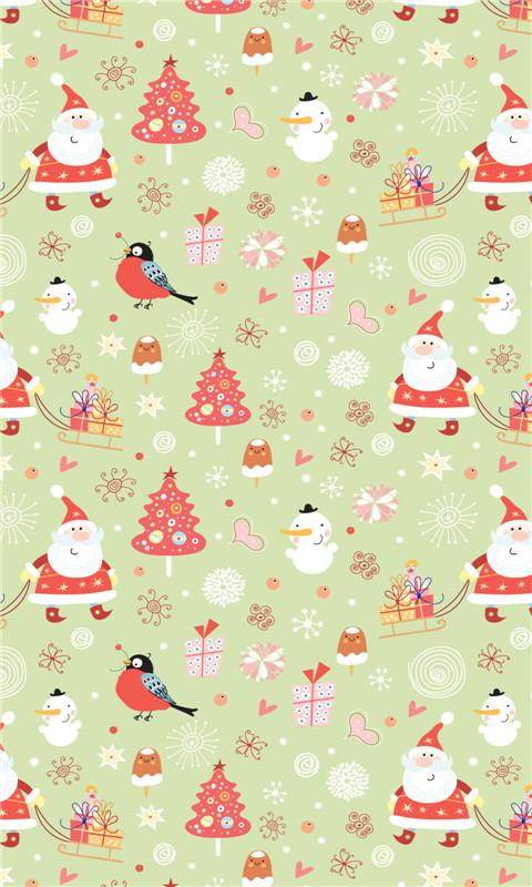 x以上 语言:中文 圣诞节小碎花可爱动态壁纸手机版截图