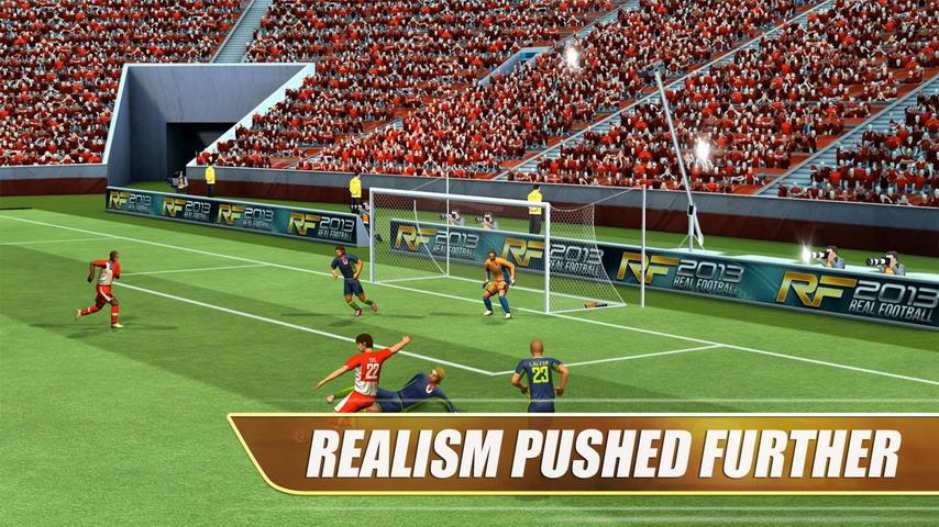 真实足球 2013 修改版 Real Football 2013下载