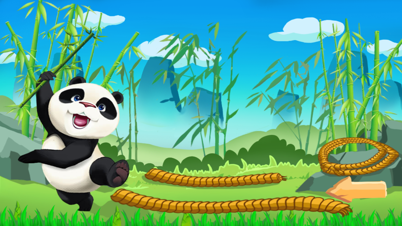 熊猫回家图片大全可爱