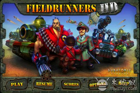 坚守阵地 Fieldrunners HD V1.20