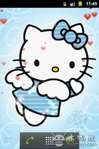 hello kitty粉可爱动态壁纸下载_hello kitty粉可爱版