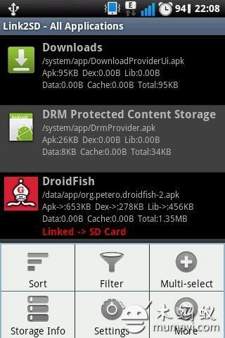 应用迁移Link2SD V4.0.12