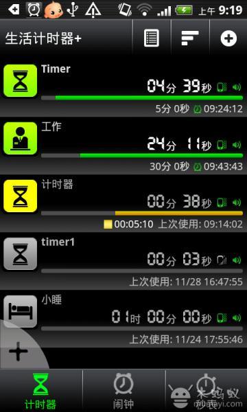 生活計時器 鬧鐘 秒表 V6.1
