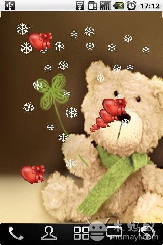 可爱小熊动态壁纸 v1.0