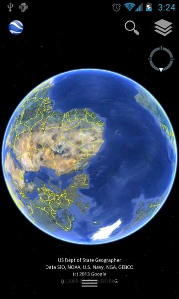 谷歌地球 Google Earth-截图