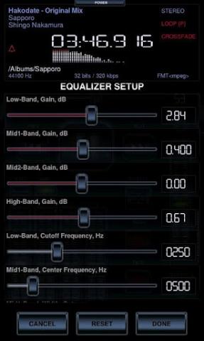 music player是一款android平台专业播放器,具有专业高清32位音频渲染