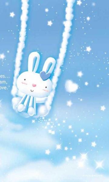 兔兔可爱动态壁纸