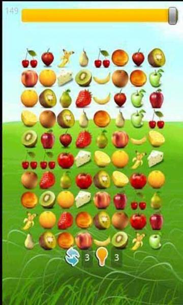 是一款android平台画面华丽的水果连连看休闲游戏,可爱的水果形象一定