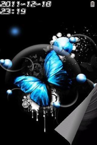手机图案蝴蝶解锁图案步骤