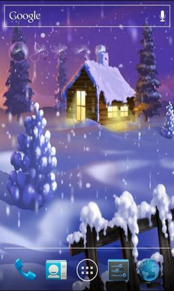精美雪景动态壁纸锁屏